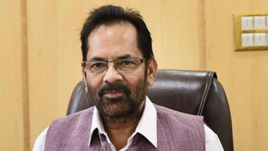 Election Commission Censures Mukhtar Abbas Naqvi For 'Modi Ki Sena' Remark
