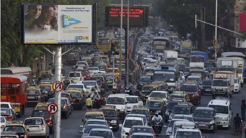Mumbai Traffic Update: Traffic Jam Expected at Western Express Highway Due to Rahul Gandhi's Rally at Bombay Exhibition Centre in Goregaon