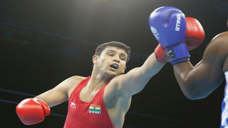 CWG 2018 Naman Tanwar Wins for Bronze Three Others Amit Panghal Gaurav Solanki Manish Kaushik Enter Boxing Finals