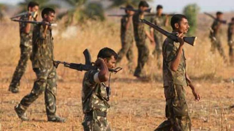 Six Naxals Held in Bijapur District of Chhattisgarh