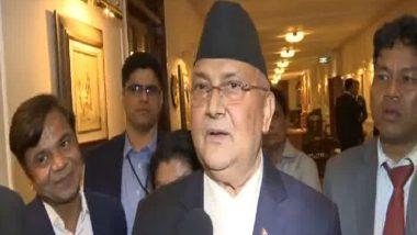 Nepal PM KP Sharma Oli Says UP CM Yogi Adityanath's Comments on Kalapani Region 'Inappropriate And Unacceptable'