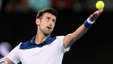 Novak Djokovic Applauds His Chauffeur's Cricket Achievement; ICC invites the Tennis Ace to a Net Session at Cricket World Cup 2019 For Wimbledon 2019 Prep