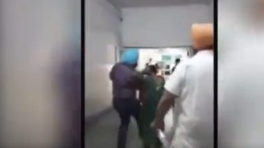 Punjab Government's Doctor Booked for Thrashing Woman Patient, Video Goes Viral