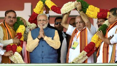 Karnataka Assembly Elections 2018: PM Narendra Modi Likely to Carry 20 Public Rallies to Boost BJP Poll Campaigns