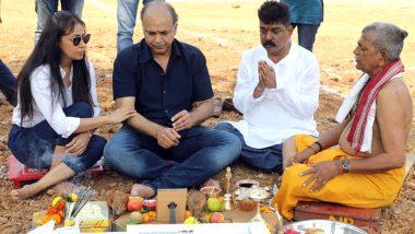 'Panipat' High Octane, Historic Drama Film's Shooting Ready to Begin, Director Ashutosh Gowariker performs 'Bhoomi Poojan' on the sets of ND Studio