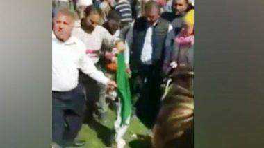 'Pakistan-Sponsored' Khalistani Elements Burn Indian Flag in London, Shameful Act Caught on Camera