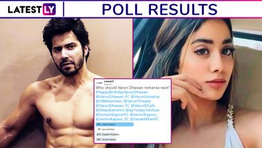 Varun Dhawan Should Romance Janhvi Kapoor next, say Fans - Check out Poll Results