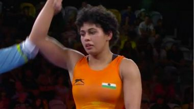 Pooja Dhanda Settles for Silver Medal in Women's Freestyle 57 kg Wrestling Event at CWG 2018