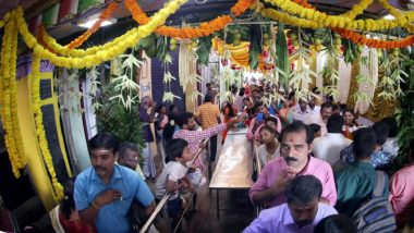 Idol in Coimbatore Decorated With Notes Worth Rs 4 Crore on Tamil New Year