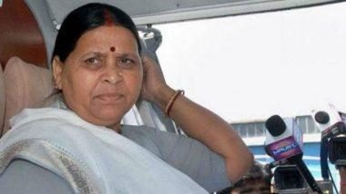 Muzaffarpur Shelter Home Case: Nitish Kumar Government Hiding Manju Verma, Alleges Rabri Devi