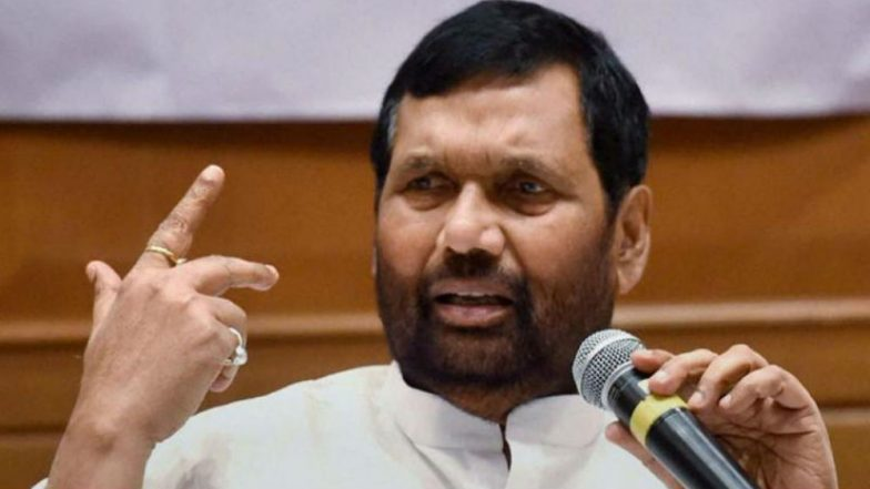 'SC, ST Employees to Get Reservation in Promotions at Both Centre, States' , Says Ram Vilas Paswan