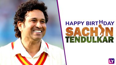 Sachin Tendulkar Holds This Distinctive Record on His Birthday: List of Innings Played by Master Blaster on 24th April