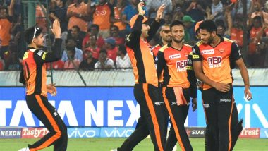 SRH vs KXIP Video Highlights, IPL 2018: Rashid Khan & Shakib Al-Hasan Star As SunRisers Hyderabad Defeat Kings XI Punjab by 13 Runs