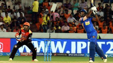 SRH vs RR LIVE IPL 2018 Streaming: Get Live Cricket Score, Watch Free Telecast of Sunrisres Hyderabad vs Rajasthan Royals on TV & Online