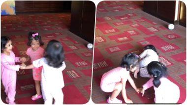 IPL 2018 Diaries: Papa Suresh Raina Uploads a cute video of Daughter Gracia Playing with Ziva and Hinaya