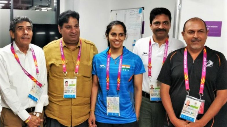 CWG 2018: Saina Nehwal 'Reunites' With her Father After Accreditation Issue is Resolved