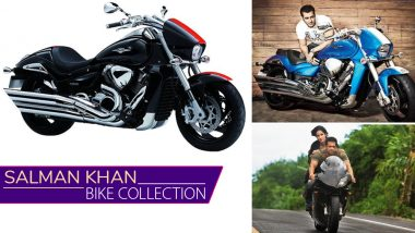 Salman Khan and His Love for Swanky Bikes: Suzuki Hayabusa to Intruder Bhai's Garage Have it all