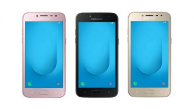Samsung Galaxy J2 2018 with 5-inch Super AMOLED Display, Snapdragon Quad-core SoC Launched; Priced in India at Rs 8190