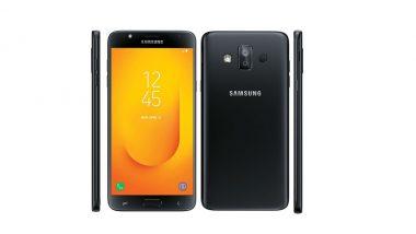Samsung Galaxy J7 Duo Launched in India at Rs. 16,990; Gets Dual Rear Camera, Fingerprint sensor, Face Unlock & Selfie Flash