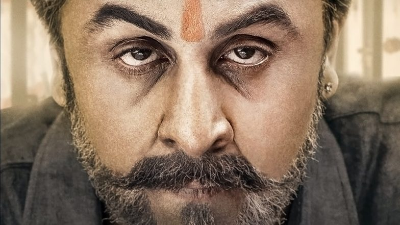 Sanju new poster: Ranbir Kapoor nails Sanjay Dutt's look again