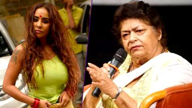 Sri Reddy Launches Verbal Attack On Saroj Khan For Her Casting Couch Comments!