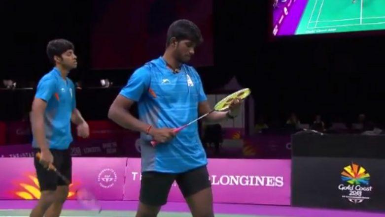 Satwik Rankireddy and Chirag Shetty Win Historic Men's Badminton Doubles Silver at CWG 2018