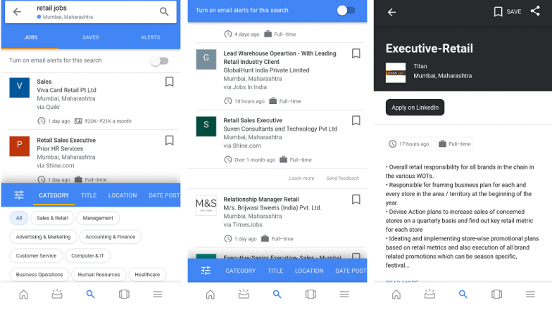 Job Search Made Easy By Google S New Search Feature Will Help