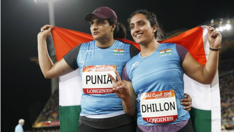 CWG 2018: Punia, Dhillon win silver and bronze in discus throw
