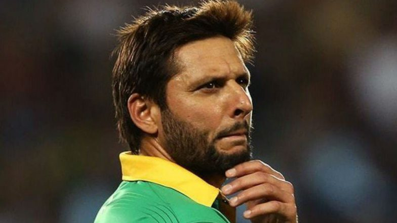Shahid Afridi Continues to Blame IPL for Sri Lankan Players' Drop-Out from Their Home Series