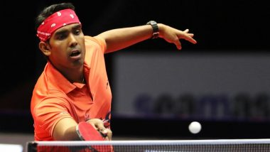 Sharath Kamal at Tokyo Olympics 2020, Table Tennis Live Streaming Online: Know TV Channel & Telecast Details of Men's Singles Round 3 Match