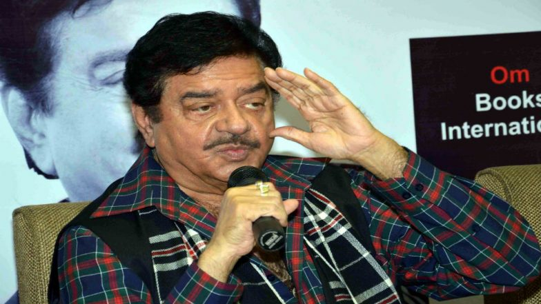Shatrughan Sinha, Rebel BJP Leader, Likely to Join Congress Ahead of Lok Sabha Elections 2019