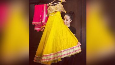 Shraddha Kapoor Announces That She Is Getting Ready for the Biggest Haldi Ceremony and Leaves Twitterati Confused