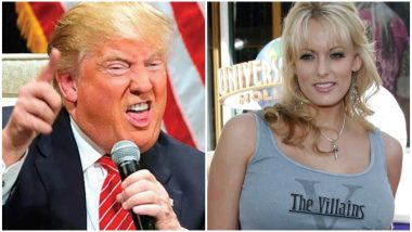 Donald Trump's Affair with Stormy Daniels: US President Claims No Knowledge of Payment to Porn Actress