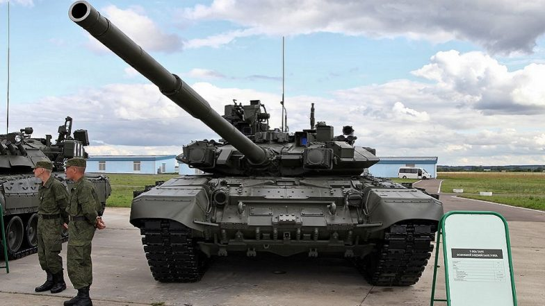 Indian Army to Induct 464 Russian Origin T-90MS Tanks to Deploy Along Pakistan Border