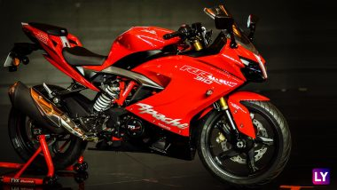 TVS Apache RR 310 India Prices Increased by Rs 8,000; Price Cut for TVS Wego