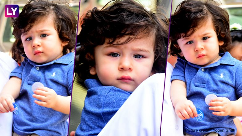 Taimur Ali Khan looks exhausted post playschool time