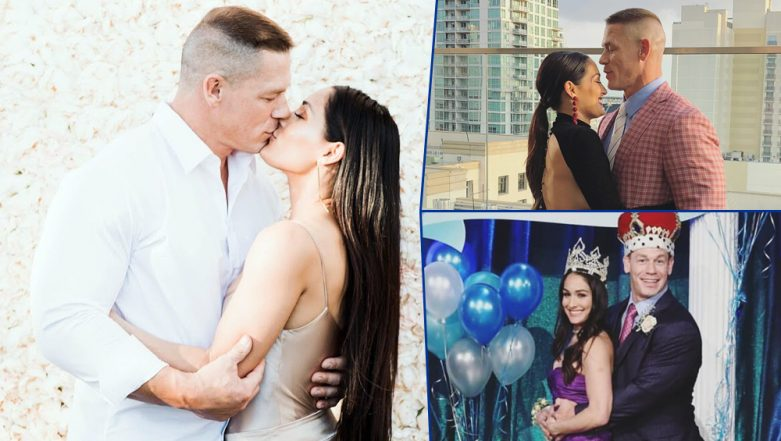 John Cena and Nikki Bella in Happier Times: WWE Couple Looked Perfect and These Pictures are a Proof