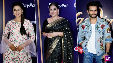 Vidya Balan, Divyanka Tripathi, Karan Tacker - Celebrities at the Red Carpet Premiere Show of Disney's Aladdin - Broadway Style Musical [View Pics]