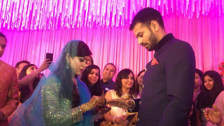 Lalu Prasad's elder son Tej Pratap Yadav engaged to Aishwarya Rai