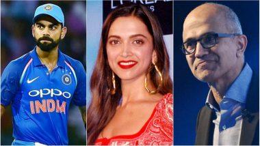 2018 Time 100: Virat Kohli, Deepika Padukone, Bhavish Aggarwal & Satya Nadella in 'List of Most Influential'