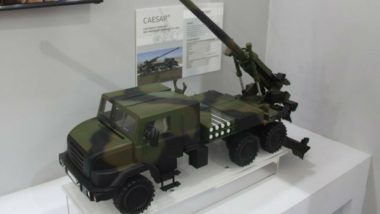 DefExpo 2018: L&T, Nexter Showcase Artillery Systems in Chennai