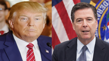 President Donald Trump Unleashes Himself In A Twitter Tirade Against Former FBI Chief James Comey
