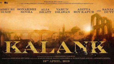 Alia Bhatt-Varun Dhawan, Sanjay Dutt-Madhuri Dixit Reunite for Karan Johar's Kalank - Read Official Statement