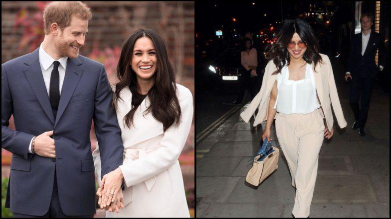 Meghan Markle And Prince Harry Royal Wedding Priyanka Chopra Is Getting Ready To Be The