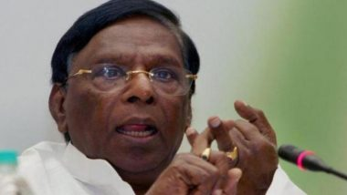 Narayanasamy Vs Kiran Bedi: Puducherry CM's Protest Against L-G Enters 4th Day