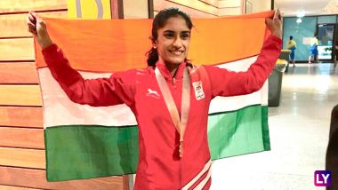 Vinesh Phogat 'Too Happy' to Qualify for Tokyo Olympics 2020, Fans Congratulate Indian Woman Wrestler on Twitter (Watch Video)