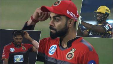 Video: Virat Kohli Instructs Umesh Yadav to Aim for Andre Russell's Head During KKR vs RCB IPL 2018 Match!
