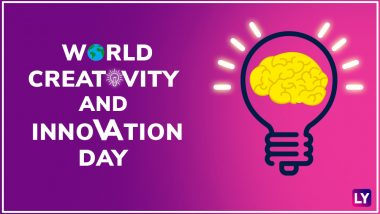 World Creativity and Innovation Day 2018: Unleash the Creativity in You by These Splendid Quotes on Creativity