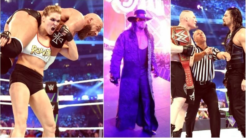 WWE Wrestlemania 34 Results & Highlights: The Undertaker Returns; Kurt Angle & Ronda Rousey, Brock Lesnar, AJ Styles and Others Emerge Winners