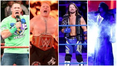 WWE Wrestlemania 34 Full Match Schedule: Brock Lesnar, AJ Styles, Randy Orton & Others Set To Defend Their Championship Titles at New Orleans!